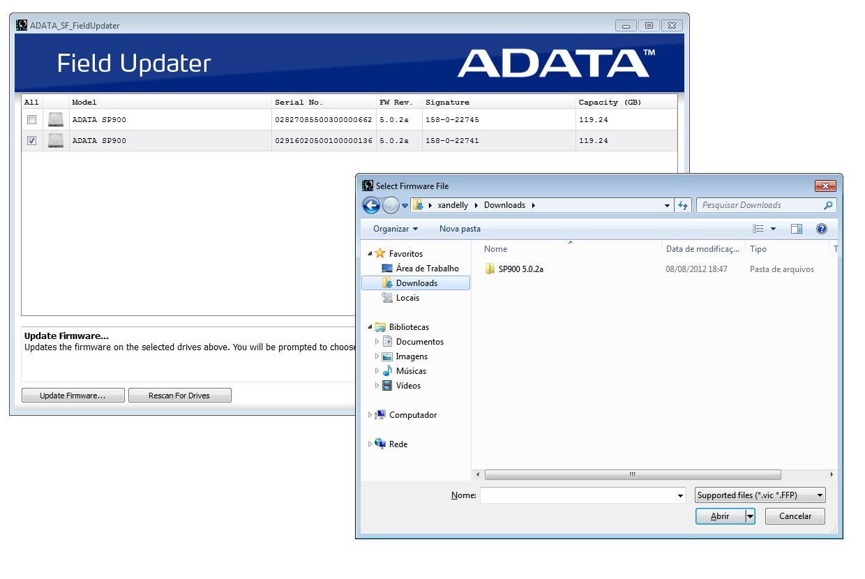 Tutorial: atualizar o firmware SSD Adata - passo a passo