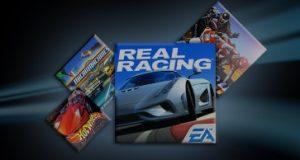 Imagem homenagem jogos de corrida EA Sports