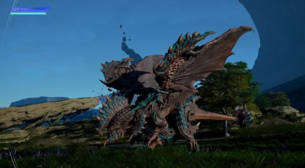 Imagem jogo Scalebound versão 2017