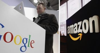 Imagem Google Amazon em franca concorrência