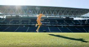 Imagem Neimar em acrobacias Panasonic