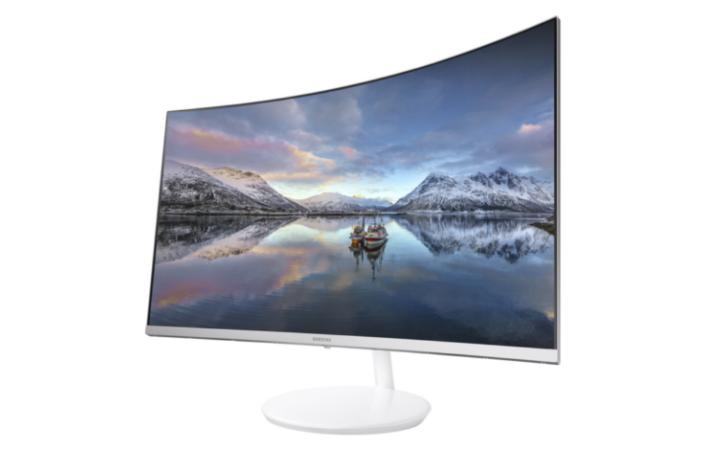 Imagem Monitor Curvo Samsung CES2017