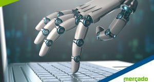 Imagem midia mkt mão robótica interação tarefas
