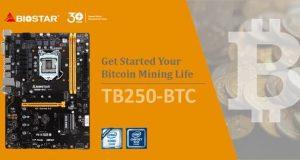 Motherboard Biostar TB250-BTC