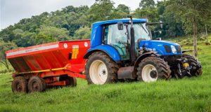New Holland trator biometano