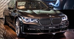 Imagem BMW autônomo teste junto com Intel