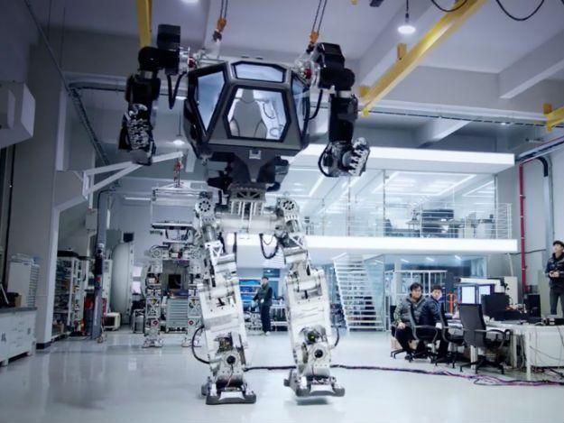 Imagem robô tripulado