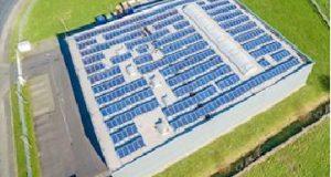 Imagem Energia solar Supermercado